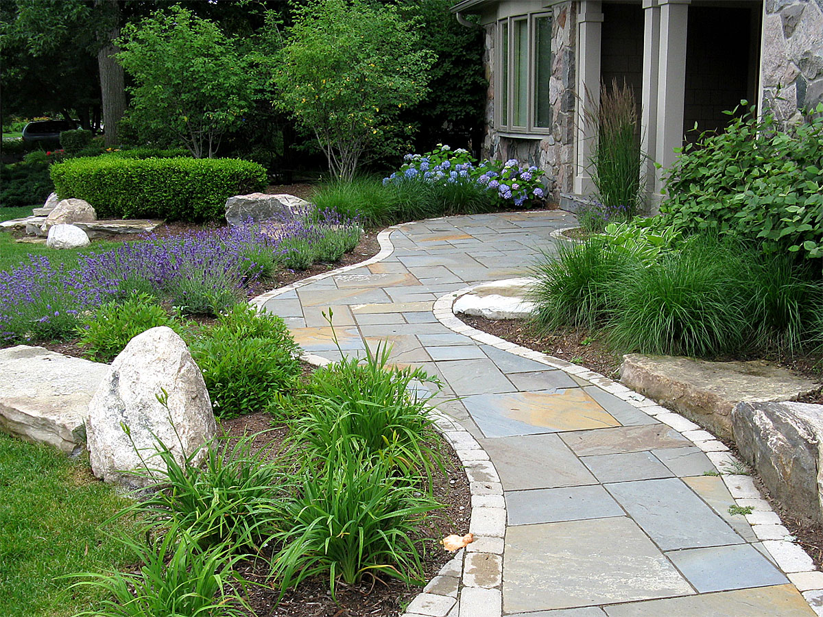 Landscape portfolio portfolio of landscape design for Landscape design michigan