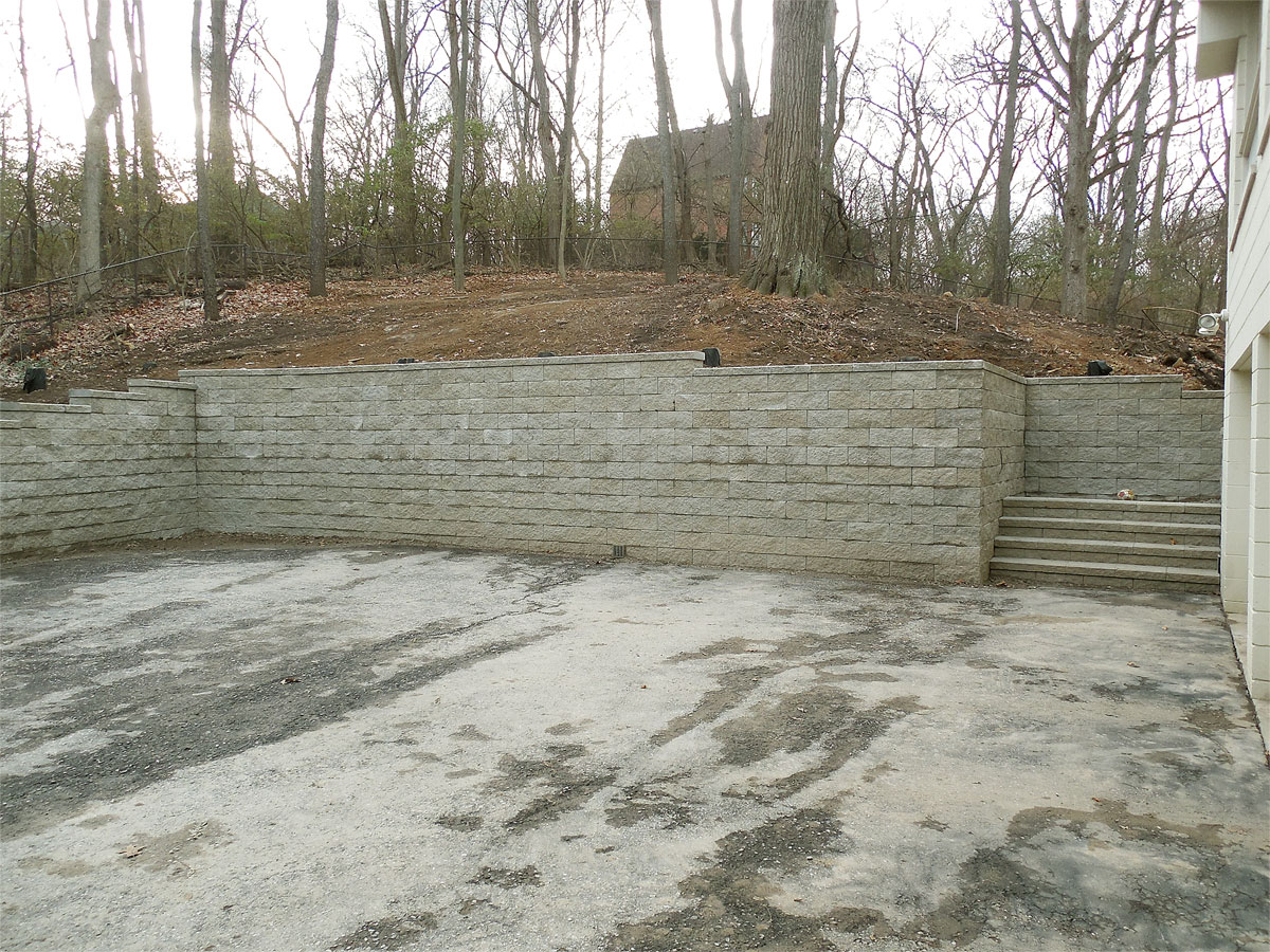 Water Retaining Walls : Retaining walls and water features portfolio of