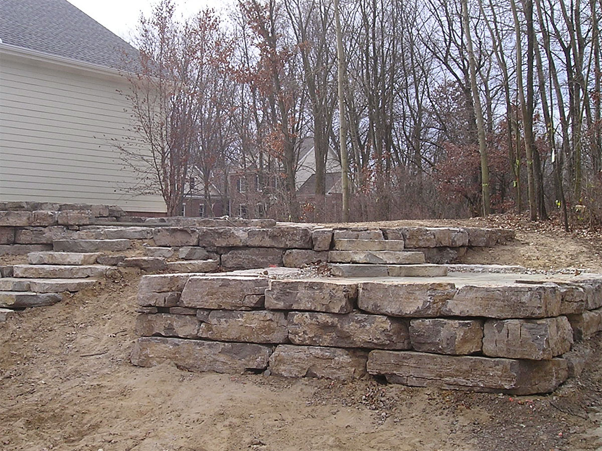 Retaining Walls And Water Features Portfolio Of