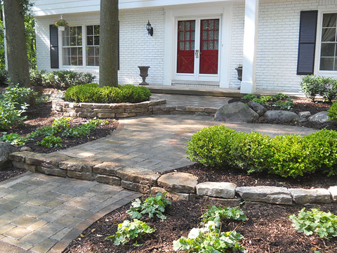 Before & After Gallery - Treasured Earth Landscape Design & Build - Farmington-Hills-after