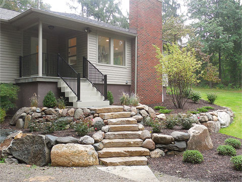 Before & After Gallery - Treasured Earth Landscape Design & Build - ann-arbor-boulder-after