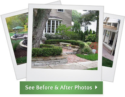 Before & After Gallery - Treasured Earth Landscape Design & Build - gallery-beforeandafters