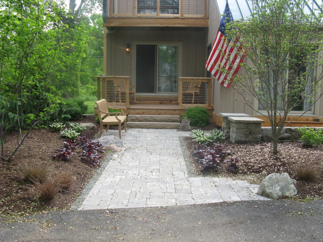 How a Facelift Transformed This Tired Ann Arbor, MI Home - Blog - Treasured Earth Landscape Design & Build - Ann_Arbor_After_1