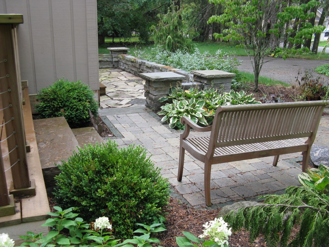 How a Facelift Transformed This Tired Ann Arbor, MI Home - Blog - Treasured Earth Landscape Design & Build - Ann_Arbor_After_2