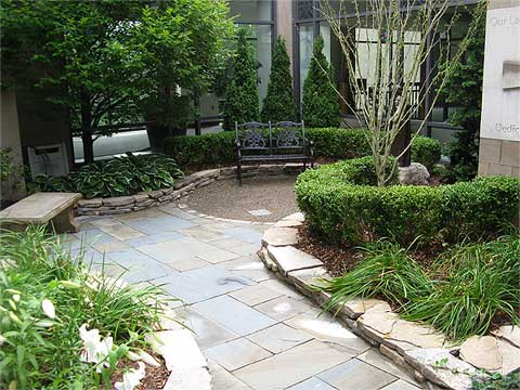 Before & After Gallery - Treasured Earth Landscape Design & Build - churchafter