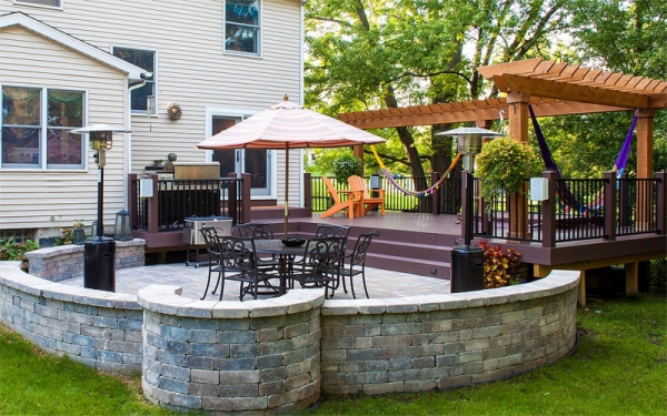Brick Pavers Stone Patios Michigan Deck Design