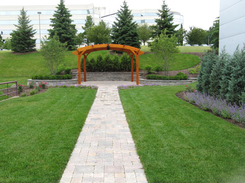 Before & After Gallery - Treasured Earth Landscape Design & Build - sheraton-after-1
